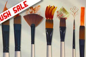 Daler Rowney Brush Sale