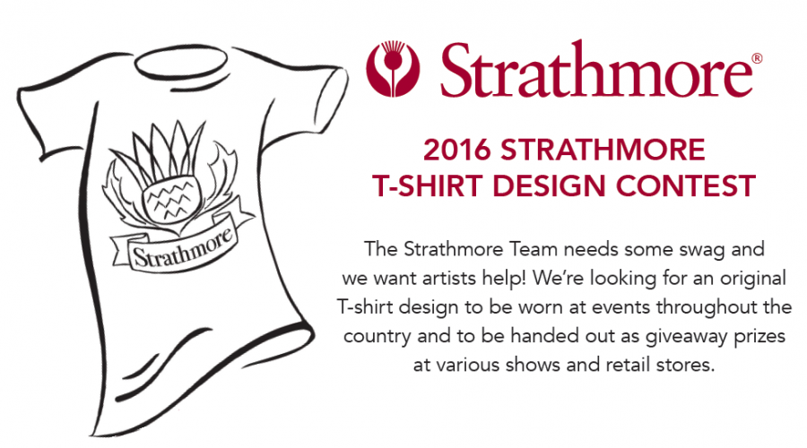 Strathmore T-shirt Design Contest