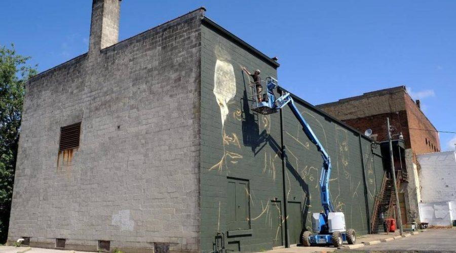 Walking Dead Mural