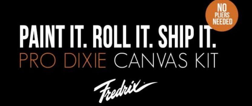 Fredrix Pro Series Dixie Canvas Kit