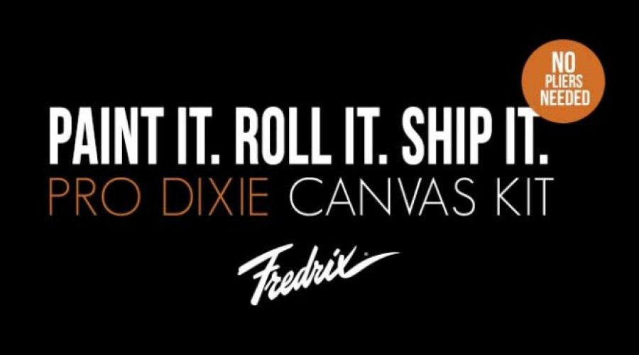 Fredrix Pro Series Dixie Canvas Kit