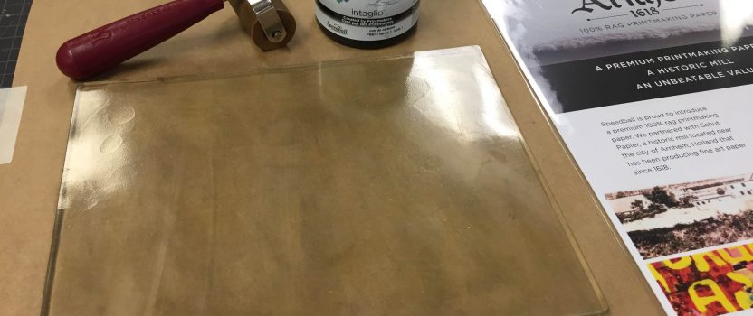 Speedball Art's Gel Printing Plate