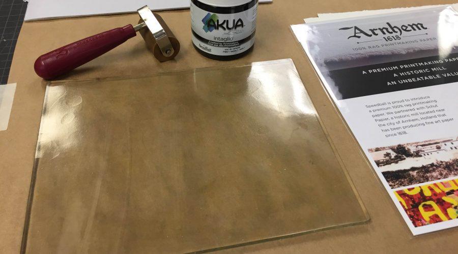 Speedball Art's Gel Printing Plate